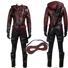 Popular Green Arrow Roy Harper Red Battleframe Cosplay Costume Custom Made Suit