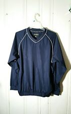FOOTJOY MEN'S XL BLUE WIND BREAKER PULLOVER JACKET