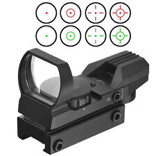 Optics Compact Reflex Red Green Dot Sight Scope 4 Reticle for Hunting HR