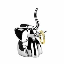 Umbra Zoola Elephant Chrome Ring Holder Jewelry Display Stand Organizer Showcase