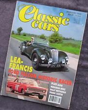 CLASSIC CARS - Feb 1993 - Lotus MkIX - Lea Francis - Alvis Grabber - Ford Falcon