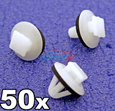50x Plastic Trim Clips for Toyota Side Mouldings, Wheel Arch & Vent Trims