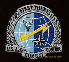 COMBAT CONTROL PATCH US AIR FORCE PIN UP TEAM CCT AFSO AFB SPECIAL OPS AFSOC WOW