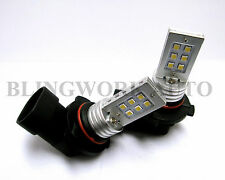 HB3 9005 BRIGHT Samsung SMD LED Fog Light Xenon White bulb for CT9A HONDA TOYOTA