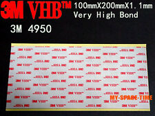 3M VHB #4950 Double-sided Acrylic Foam Tape Automotive 100mm X 200mm