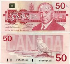 CANADA 50 DOLLARS 1988 CIRCULATED GOOD CONDITION BON ETAT W.LYON MACKENZIE KING