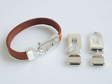 5 Sets Antique Silver 10mm Flat Leather Toggle Clasp for 10mm Flat Leather Cord