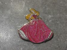DISNEY DLRP PIN PRINCESS AURORA GLITTER SPARKLE DRESS SLEEPING BEAUTY