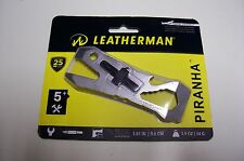 Leatherman Piranha Pocket Multi-Tool Survival kit Bug out Bag EDC NEW