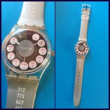 "Swatch ""Calling the past"" artist by Kerry Grady 1999 nuovo raro"