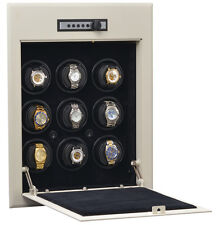 Orbita Wall Safe Steel 9 Automatic Watch Winder Cabinet Storage W21702 Battery