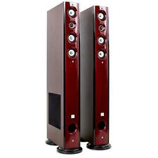 "NEW KODA D92F 8"" HI-FI FLOOR STANDING SPEAKERS 120W RMS HOME STEREO AUDIO"