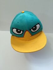Disney Phineas And Ferb Baseball Hat Cap Wheres Perry Adjustable EXCELLENT
