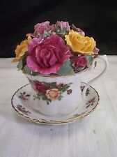 Royal Albert Old Country Rose Musical Coffee Cup