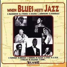 CD When Blues Meets Jazz - Various Artists NEW