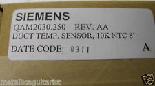 "SIEMENS - DUCT TEMPERATURE AVERAGING SENSOR - 10K NTC 8"" - QAM2030.250  *NEW*"