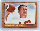 1966 TOPPS FOOTBALL #48 GEORGE BLANDA, HOUSTON OILERS, KENTUCKY, HOF