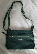NWOT  Kipling Adjustable Crossbody Bag Purse - OPTIC GREEN Print