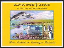 FSAT/TAAF 2006 Birds/Albatross/Nature/Penguins/StampEx 1v m/s (n32985)