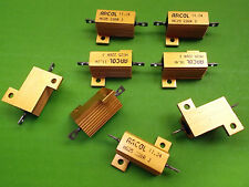 Resistor 220 Ohms 25W Power 220 R 25 Watt HS HSA 5% Aluminium Housed x 1pc ONO