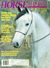 1991 Horse Illustrated Magazine: Therapy for Equine Back Pain/Training Excercise