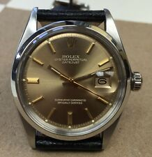 Vintage Rolex Datejust Ref.1601 Beautiful 100% Original Survivor  OTswissTO Dial
