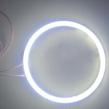 White 110MM COB LED Angel Eyes Headlight Halo Ring Warning Width Lamp 12V/24V AU