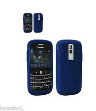 Funda Blackberry Bold 9000 Silicona AZUL ORIGINAL