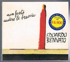 EDOARDO BENNATO NON FARTI CADERE LE BRACCIA CD F.C. DISCHI D'ORO SIGILLATO!!!