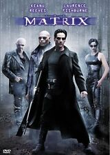 Like New DVD The Matrix Keanu Reeves Laurence Fishburne Carrie-Anne Moss 1 Disc