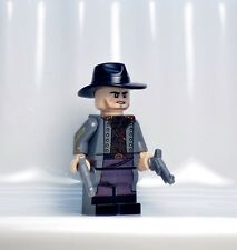 A1232 Lego CUSTOM PRINTED DC legends of tomorrow JONAH HEX MINIFIG Black Lantern
