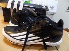 Adidas Lightning D Mid Football/Lacrosse Cleats SZ 7 1/2 Black/WHITE G20579. NIB