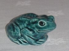 "POOLE POTTERY ""TOAD"" BLUE GLAZED ANIMAL~EXCELLENT~FREE UK POST"