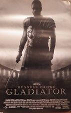 "MOVIE POSTER~Gladiator (2000) Russell Crowe Rare B/W Cover Version 23x35"" NOS~"