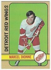 1972-73 TOPPS HOCKEY #18 MARCEL DIONNE 2ND YEAR - EXCELLENT-