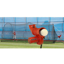 Heater Sports Power Alley 11 In Softball Machine & Poweralley 22 Ft. Cage