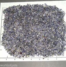 IOLITE Chips, 3-5mm rough indigo blue transparent 1/2 lb bulk xxmini+ stones