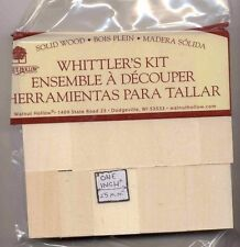 Basswood Whittlers Kit - 10 pieces - X7576 carving blocks