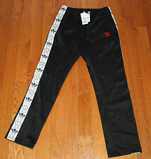 $80 New ADIDAS Originals Nigo Retro Bear MEDIUM M Track Pants Black Striped 25th