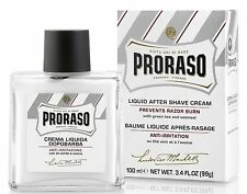 Proraso After Shave Cream, Sensitive Skin, 3.4 oz (100 ml)