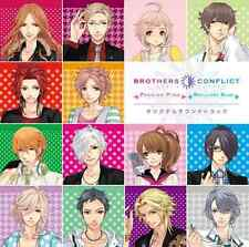 GAME MUSIC-BROTHERS CONFLICT PASSION PINK & BRILLIANT BLUE O.S.T.-JAPAN CD G88