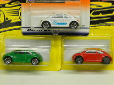 Matchbox VW Concept x3 - Red From 1997 SF - White From 1999 - Green From 1997SF*