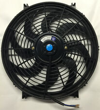 "14"" INCH ELECTRIC UNIVERSAL AUTO COOLING RADIATOR FAN  HOT ROD w/ MOUNT KIT"
