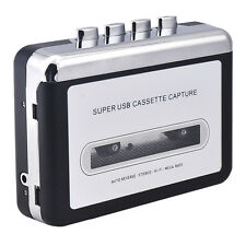 New Tape to PC Super USB Cassette-to-MP3 Converter Capture Audio Music Player