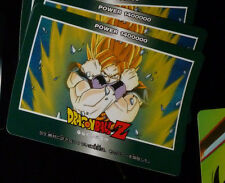 DRAGON BALL Z DBZ AMADA PP PART 21 CARDDASS CARD PRISM CARTE 919 JAPAN 1993 NM