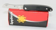 Spyderco Roadie Double Dent Non Locking Small Pocket Knife FRN Handle C189PBK