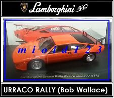 1/43 -  Lamborghini Collection 50° : URRACO RALLY ( Wallace ) [1974 ] - Die-cast