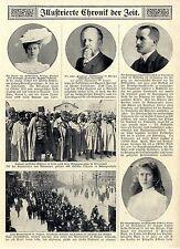 Prinzessin Mary v.England Brautjungfer Hochzeit Prinzessin Viktoria Luise 1913