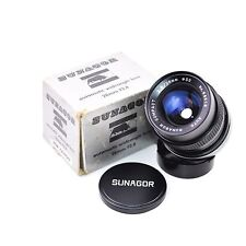 Auto SUNAGOR Compact f/2.8 28mm Lens for Canon