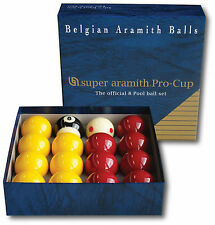 "Super Aramith Pro Cup Premier League Pool Balls - 2"" - 1 7/8"" Cue Ball"